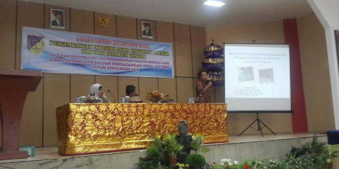 Kerjasama Prodi Agribisnis dengan Dinas Perindustrian dan Perdagangan Provinsi Sulawesi Tengah