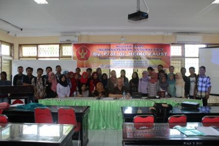 Kuliah Umum Prodi Agribisnis