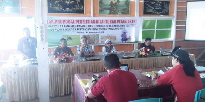 Kerjasama Prodi Agribisnis dengan Dinas Tanaman Pangan dan Hortikultura Kabupaten Toli-toli