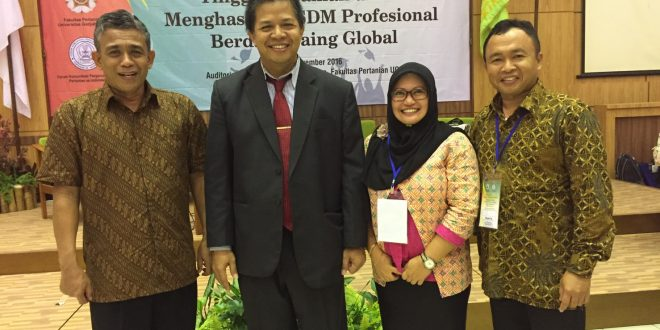 Prodi Agribisnis Hadiri Lokakarya & Seminar Nasional FKPTPI